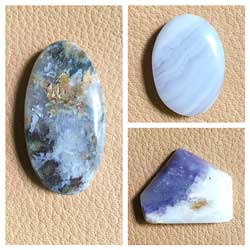 Samples of cabochons